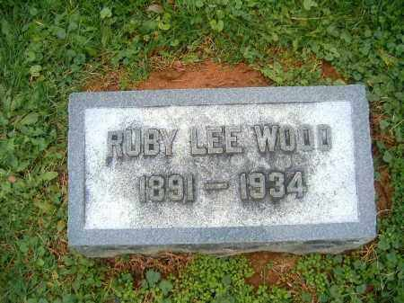 WOOD, RUBY LEE - Brown County, Ohio | RUBY LEE WOOD - Ohio Gravestone Photos