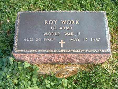 WORK, ROY - Brown County, Ohio | ROY WORK - Ohio Gravestone Photos