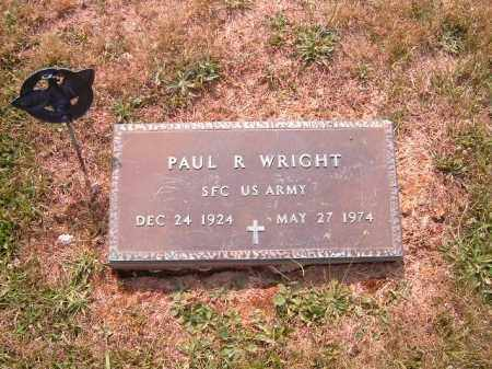 WRIGHT, PAUL  R - Brown County, Ohio | PAUL  R WRIGHT - Ohio Gravestone Photos