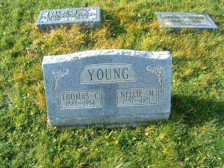 YOUNG, NELLIE  M - Brown County, Ohio | NELLIE  M YOUNG - Ohio Gravestone Photos
