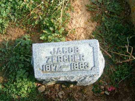ZERCHER, JACOB - Brown County, Ohio | JACOB ZERCHER - Ohio Gravestone Photos