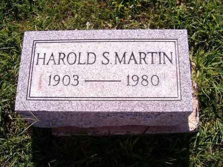 MARTIN, HAROLD   S - Brown County, Ohio | HAROLD   S MARTIN - Ohio Gravestone Photos