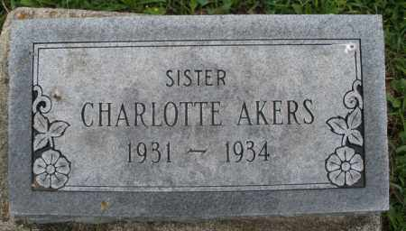 AKERS, CHARLOTTE - Butler County, Ohio | CHARLOTTE AKERS - Ohio Gravestone Photos