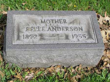ANDERSON, BELLE - Butler County, Ohio | BELLE ANDERSON - Ohio Gravestone Photos