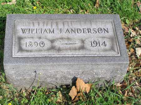 ANDERSON, WILLIAM JOSEPH - Butler County, Ohio | WILLIAM JOSEPH ANDERSON - Ohio Gravestone Photos