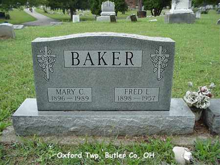 BAKER, MARY - Butler County, Ohio | MARY BAKER - Ohio Gravestone Photos
