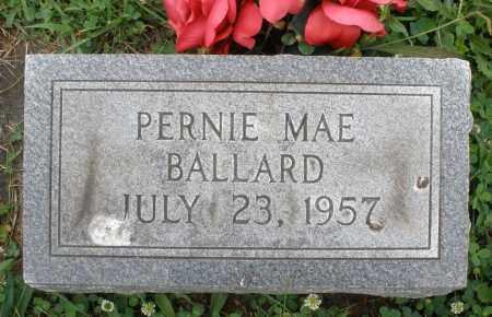 BALLARD, PERNIE MAE - Butler County, Ohio | PERNIE MAE BALLARD - Ohio Gravestone Photos