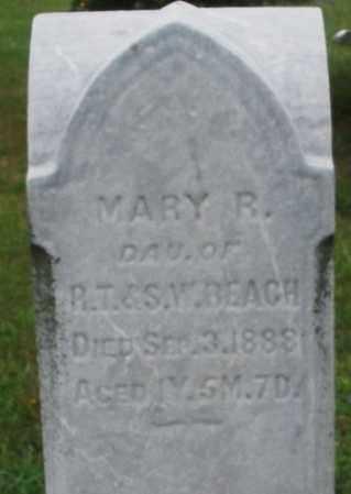 BEACH, MARY R. - Butler County, Ohio | MARY R. BEACH - Ohio Gravestone Photos
