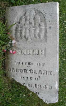 CLARK, SARAH - Butler County, Ohio | SARAH CLARK - Ohio Gravestone Photos