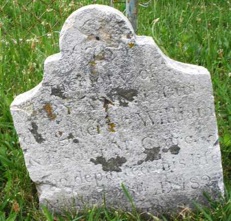 CLURE, MARY A. - Butler County, Ohio | MARY A. CLURE - Ohio Gravestone Photos