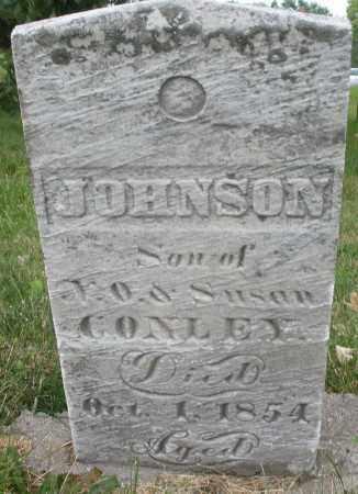 CONLEY, JOHNSON - Butler County, Ohio | JOHNSON CONLEY - Ohio Gravestone Photos