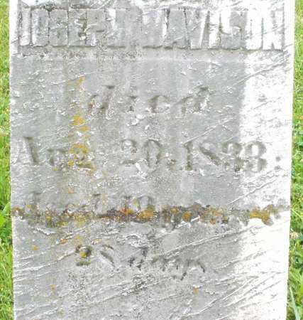 DAVISON, JOSEPH - Butler County, Ohio | JOSEPH DAVISON - Ohio Gravestone Photos