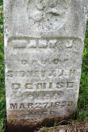 DENISE, MARY J. - Butler County, Ohio   MARY J. DENISE - Ohio Gravestone Photos