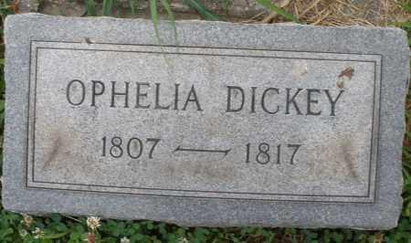 DICKEY, OPHELIA - Butler County, Ohio | OPHELIA DICKEY - Ohio Gravestone Photos