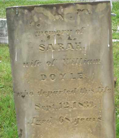 DOYLE, SARAH - Butler County, Ohio | SARAH DOYLE - Ohio Gravestone Photos