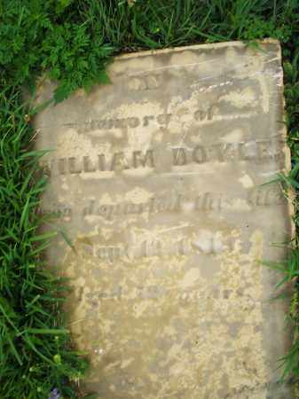 DOYLE, WILLIAM - Butler County, Ohio | WILLIAM DOYLE - Ohio Gravestone Photos