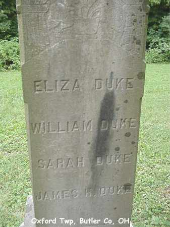 DUKE, WILLIAM - Butler County, Ohio | WILLIAM DUKE - Ohio Gravestone Photos