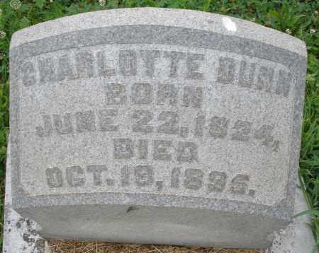 DUNN, CHARLOTTE - Butler County, Ohio | CHARLOTTE DUNN - Ohio Gravestone Photos