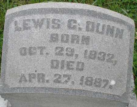 DUNN, LEWIS C. - Butler County, Ohio | LEWIS C. DUNN - Ohio Gravestone Photos