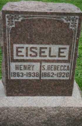 BELL EISELE, SUSAN REBECCA - Butler County, Ohio | SUSAN REBECCA BELL EISELE - Ohio Gravestone Photos