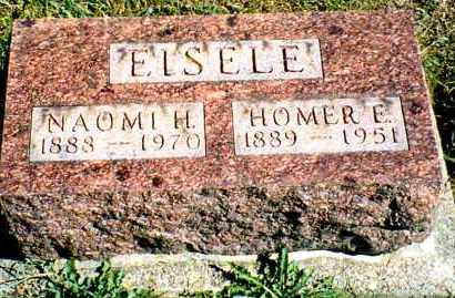 EISELE, HOMER EVERETT - Butler County, Ohio | HOMER EVERETT EISELE - Ohio Gravestone Photos
