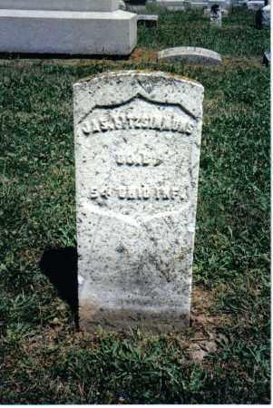 FITZSIMMONS, JAS. - Butler County, Ohio | JAS. FITZSIMMONS - Ohio Gravestone Photos