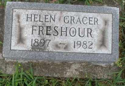 FRESHOUR, HELEN GRACER - Butler County, Ohio | HELEN GRACER FRESHOUR - Ohio Gravestone Photos