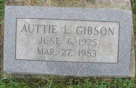 GIBSON, AUTTIE L. - Butler County, Ohio | AUTTIE L. GIBSON - Ohio Gravestone Photos