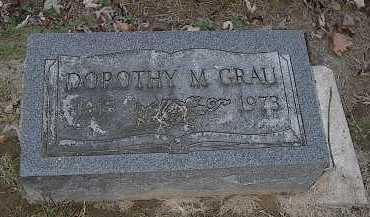 GRAU, DOROTHY M. - Butler County, Ohio | DOROTHY M. GRAU - Ohio Gravestone Photos