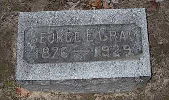 GRAU, GEORGE E. - Butler County, Ohio | GEORGE E. GRAU - Ohio Gravestone Photos