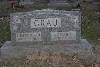 GRAU, GERTRUDE B. - Butler County, Ohio | GERTRUDE B. GRAU - Ohio Gravestone Photos
