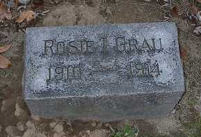 GRAU, ROSIE I. - Butler County, Ohio | ROSIE I. GRAU - Ohio Gravestone Photos