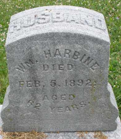 HARBINE, WILLIAM - Butler County, Ohio | WILLIAM HARBINE - Ohio Gravestone Photos