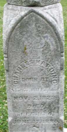 HARDING, CHARLES - Butler County, Ohio | CHARLES HARDING - Ohio Gravestone Photos