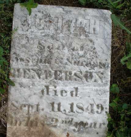 HENDERSON, JOSEPH - Butler County, Ohio | JOSEPH HENDERSON - Ohio Gravestone Photos