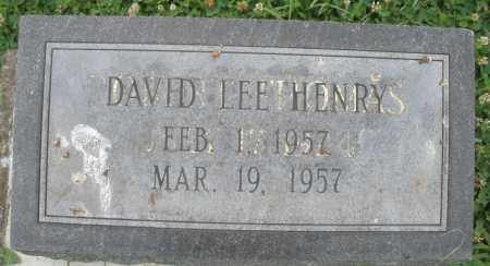 HENRY, DAVID LEE - Butler County, Ohio | DAVID LEE HENRY - Ohio Gravestone Photos