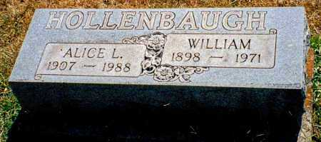 HOLLENBAUGH, ALICE L - Butler County, Ohio | ALICE L HOLLENBAUGH - Ohio Gravestone Photos