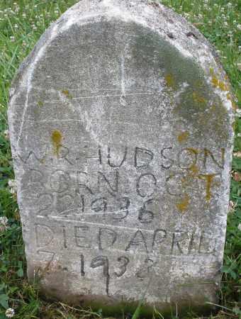 HUDSON, W.R - Butler County, Ohio | W.R HUDSON - Ohio Gravestone Photos