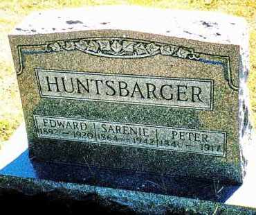 HUNTSBARGER, SARENIE - Butler County, Ohio | SARENIE HUNTSBARGER - Ohio Gravestone Photos