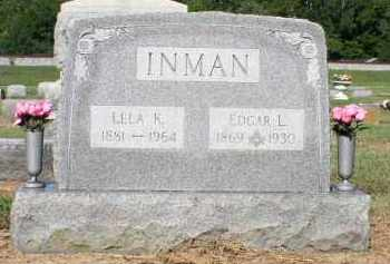 INMAN, EDGAR L. - Butler County, Ohio | EDGAR L. INMAN - Ohio Gravestone Photos