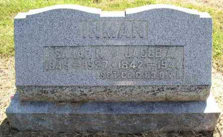INMAN, JACOB A. - Butler County, Ohio | JACOB A. INMAN - Ohio Gravestone Photos