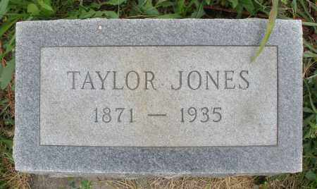 JONES, TAYLOR - Butler County, Ohio | TAYLOR JONES - Ohio Gravestone Photos