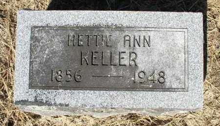 KELLER, HETTIE ANN - Butler County, Ohio | HETTIE ANN KELLER - Ohio Gravestone Photos