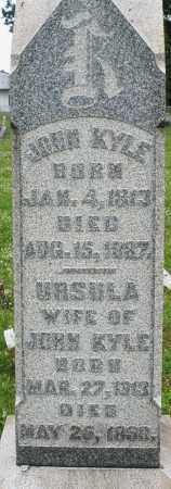 KYLE, JOHN - Butler County, Ohio | JOHN KYLE - Ohio Gravestone Photos