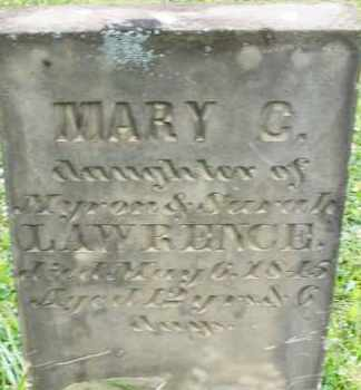 LAWRENCE, MARY C. - Butler County, Ohio | MARY C. LAWRENCE - Ohio Gravestone Photos