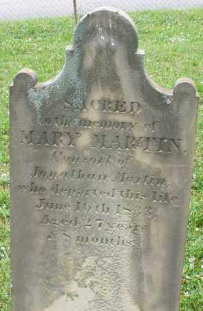 MARTIN, MARY - Butler County, Ohio   MARY MARTIN - Ohio Gravestone Photos