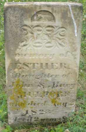 MULFORD, ESTHER - Butler County, Ohio | ESTHER MULFORD - Ohio Gravestone Photos
