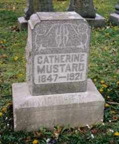 MUSTARD, CATHERINE - Butler County, Ohio | CATHERINE MUSTARD - Ohio Gravestone Photos