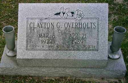OVERHOLTS, CLAYTON - Butler County, Ohio | CLAYTON OVERHOLTS - Ohio Gravestone Photos