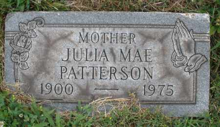 PATTERSON, JULIA MAE - Butler County, Ohio | JULIA MAE PATTERSON - Ohio Gravestone Photos